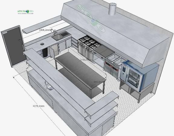 Maquinaria hosteleria madrid for Muebles industriales madrid